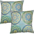 Color Wheel Capri 17-inch Throw Pillows (Set of 2)