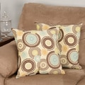 Raja Spa 17-inch Throw Pillows (Set of 2)