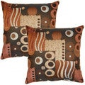 Mystic Rust 17-inch Throw Pillows (Set of 2)