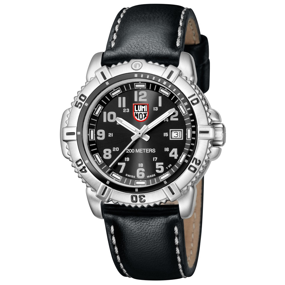Luminox Men's Steel Colormark Black Watch