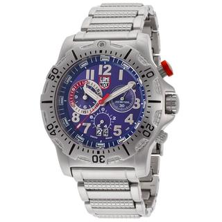 Luminox Men's 'Diver' Chronograph Stainless Steel Titium Illumination Watch