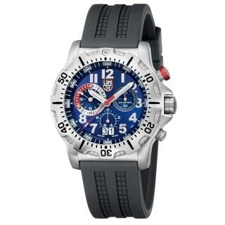 Luminox Men's 'Dive' Chronograph Blue Tritium Illuminated Watch