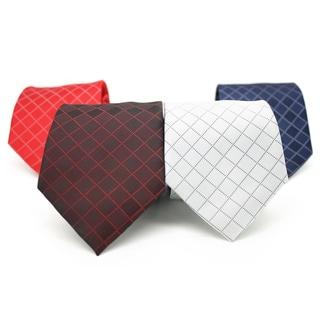 Ferrecci Handkerchief and Necktie Pair (Set of 4 pairs)
