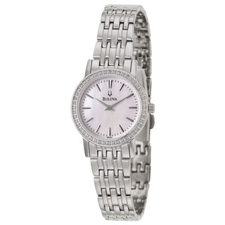 Bulova Women's 96R164 'Diamonds' Stainless Steel Quartz Watch