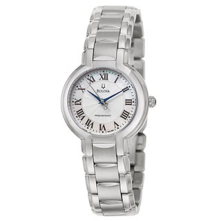 Bulova Women's 96L168 'Precisionist Fairlawn' Stainless Steel Japanese Quartz Watch