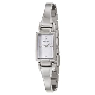 Bulova Women's 96P137 'Diamonds' Stainless Steel Quartz Watch