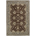 Hand-tufted Royal Taj Brown Wool Area Rug (2' x 3')