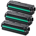 Samsung CLP-680 (CLT-K506L) Black Compatible Laser Toner Cartridges (Pack of 3)