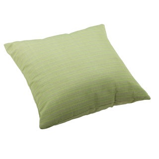 Apple Green Weather-resistant Linen Pillow