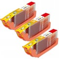 Canon CLI-251XL (6451B001) High-Yield Yellow Ink Cartridges (Pack of 3)