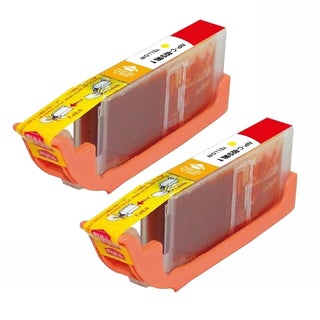 Canon CLI-251XL (6451B001) High-Yield Yellow Ink Cartridges (Pack of 2)