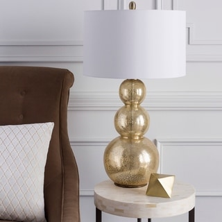 Glamorous Gold Glass Table Lamp