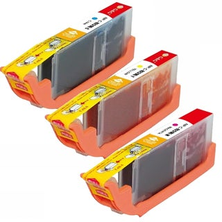 Canon CLI-251XL Cyan, Yellow, Magenta High-Yield Ink Cartridges (Pack of 3)