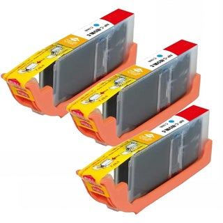 Compatible Canon CLI-251XL/ 6449B001 High Yield Cyan Ink Cartridges (Pack of 3)