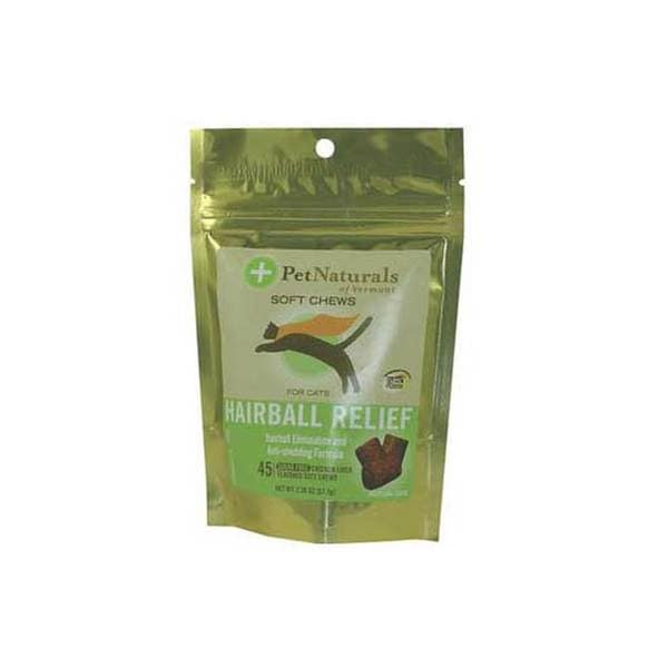 Pet Naturals of Vermont Hairball Skin/ Hair Supplement Chews for Cats