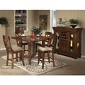 Verona Solid Birch Rustic 5-piece Gathering Set