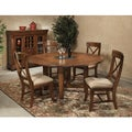 Verona Solid Birch Rustic 5-piece Dinette Set