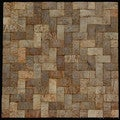 Natural Brown Convex Coconut Wall Tile