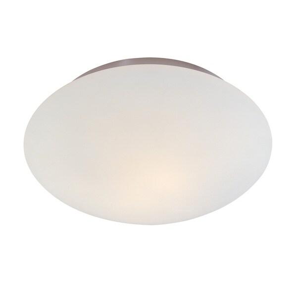 Sonneman Lighting Mushroom 2-light Polished Nickel Surface Mount
