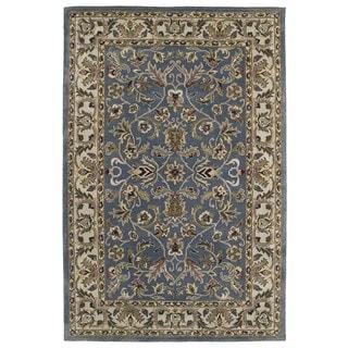 Royal Taj Blue Hand-Tufted Wool Rug (3'6 x 5'3)