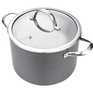 Cooks Standard Hard Anodize Premium Grade Nonstick 8-quart Covered Stockpot