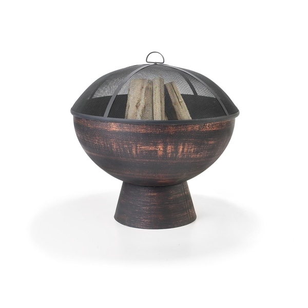 Good Directions 26-inch Fire Bowl with Spark Screen