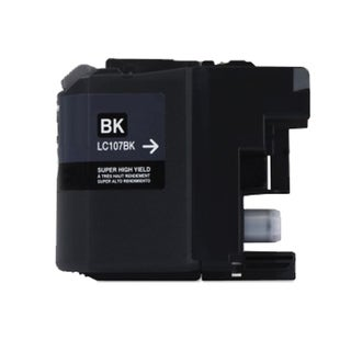 Brother LC107 Black Compatible Ink Cartridge (Remanufactured)