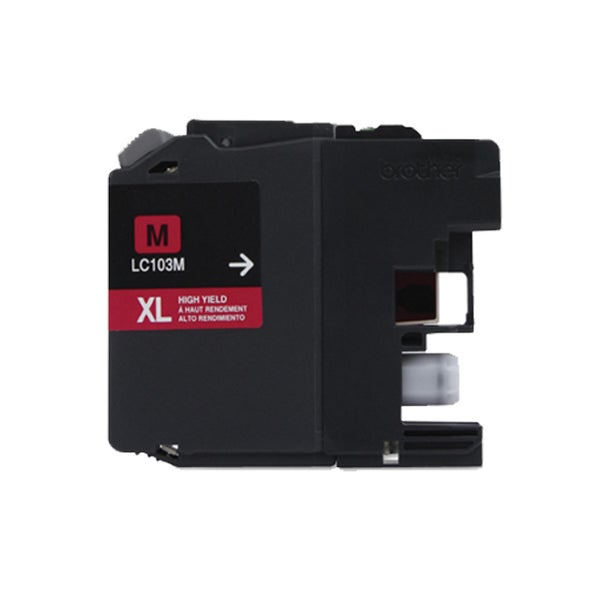 Brother LC103 Magenta Compatible Ink Cartridge (Remanufactured)