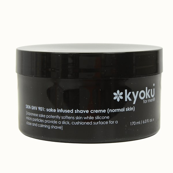 Kyoku Sake Infused Normal 6-ounce Shave Creme