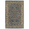 Hand-tufted Royal Taj Blue Wool Area Rug (5' x 7'9)