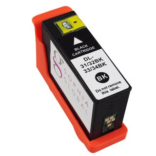 Sophia Global Compatible Ink Cartridge Replacement for Dell 31 (1 Black)