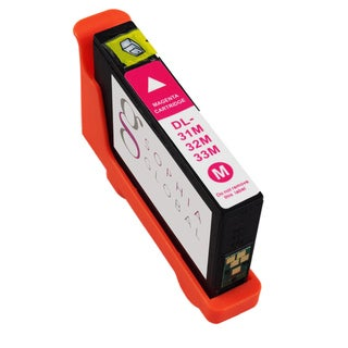 Sophia Global Compatible Ink Cartridge Replacement for Dell 31 (1 Magenta)