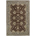 Hand-tufted Royal Taj Brown Wool Rug (5' x 7'9)