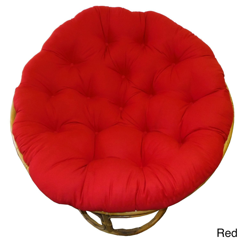 Outdoor Papasan Chair Cushion Viewing Gallery