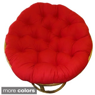 Celebration Solid 45-inch Tufted Papasan Cushion