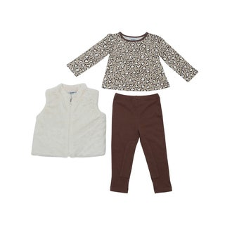 Girl's Cheetah Print Clothing Set