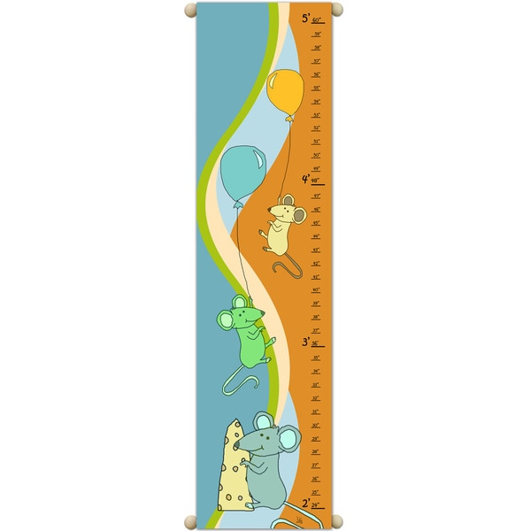 Mice and Cheese Orange Growth Chart