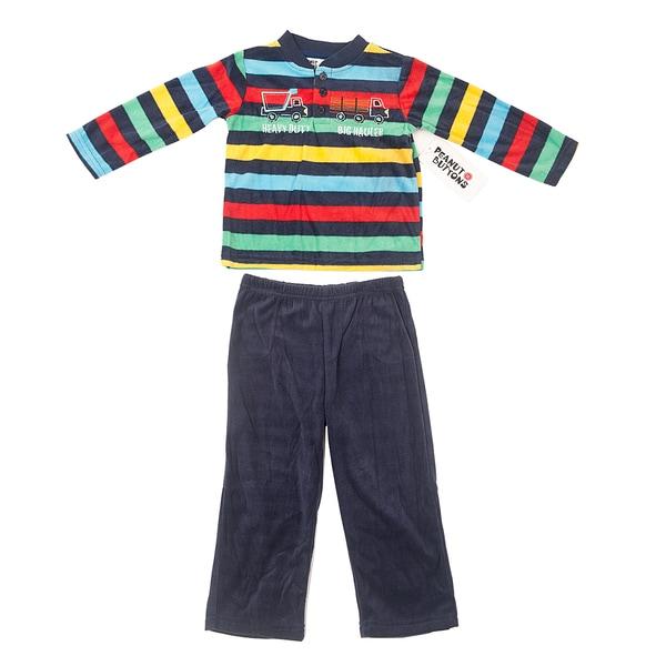 Peanut Buttons Boy's Truck Theme Shirt and Pant Set