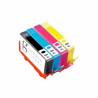 Sophia Global Compatible Ink Cartridge Replacement for HP 564XL (1 Photo Black, 1 Cyan, 1 Magenta, 1 Yellow)