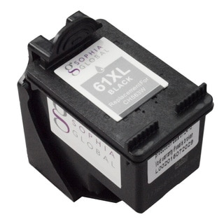 Sophia Global HP 61XL Ink Level Display Black Ink Cartridge Replacement (Remanufactured)