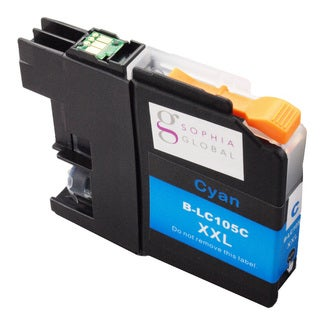 Sophia Global Compatible Ink Cartridge Replacement for LC105 XXL (1 Cyan)