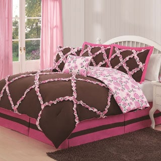 Farrah 6-piece Reversible Comforter Set