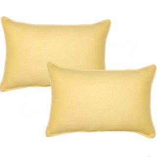 Diamond Sunshine 12.5-in Throw Pillows (Set of 2)