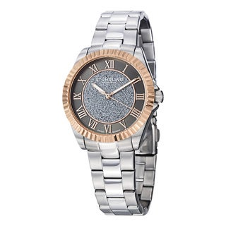 Stuhrling Original Women's Shimmer Swiss Quartz Bracelet Watch