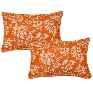 Wexford Tangerine 12.5-in Throw Pillows (Set of 2)