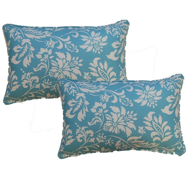Wexford Lagoon 12.5-in Throw Pillows (Set of 2)