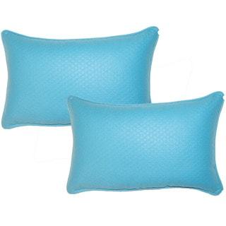 Diamond Lagoon 12.5-in Throw Pillows (Set of 2)