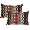 Cogee Red 12.5-in Throw Pillows (Set of 2)
