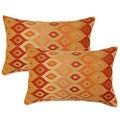 Cogee Spice 12.5-in Throw Pillows (Set of 2)
