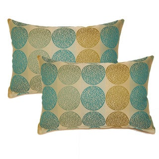 Kenzo Baltic 12.5-in Throw Pillows (Set of 2)